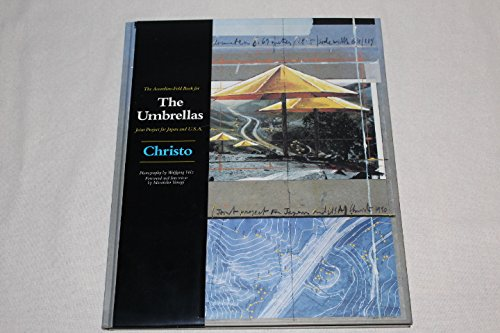 The Accordion Fold Book for the Umbrellas Joint Project for Japan and U. S. A.: Christo