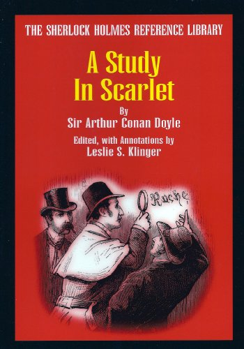 9780938501329: A Study in Scarlet (The Sherlock Holmes Reference Library)