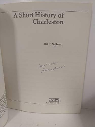 9780938530046: A Short History of Charleston