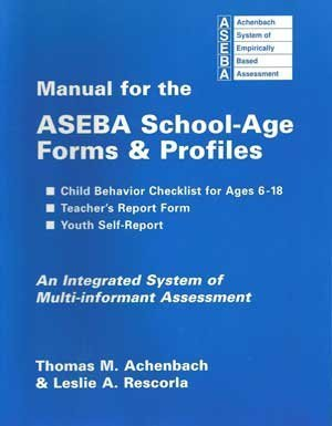 9780938565734: Manual for the ASEBA School-Age Forms & Profiles