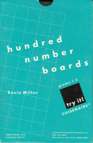 9780938587231: Try It! Hundred Number Boards