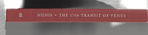 The 1769 Transit of Venus. The Baja California Observations of Jean-Baptiste Chappe d'...
