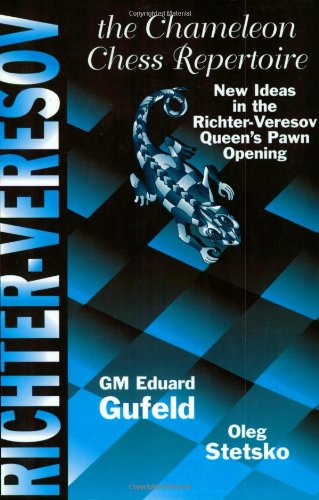 9780938650973: The Chameleon Chess Repertoire: New Ideas in the Richter-Vereson Queen's Pawn Opening