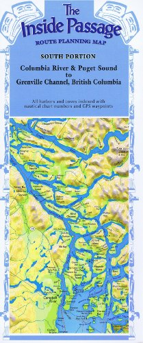 9780938665885: Inside Passage, AK/CAN, South Portion by Fine Edge (2001-01-01)