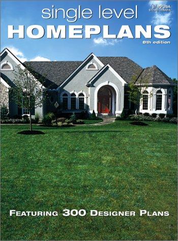 9780938708971: Single Level Home Plans