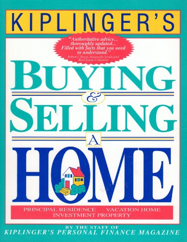 9780938721260: Kiplinger's Buying and Selling a Home
