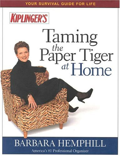 Taming the Paper Tiger at Home, Fifth Edition: Hemphill, Barbara