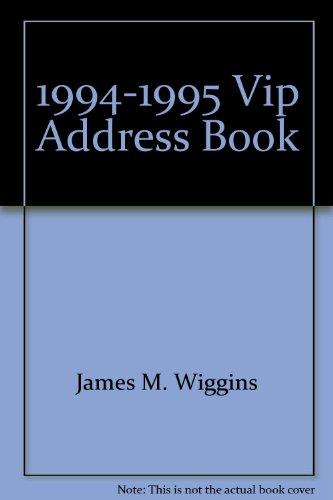 9780938731092: 1992-1993 V.I.P. Address Book
