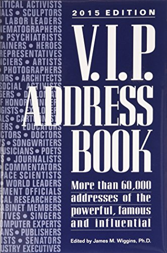 V.I.P. Address Book 2015: Wiggins, James M. (editor)