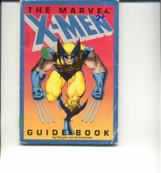 9780938753698: MARVEL X-MEN GUIDEBOOK