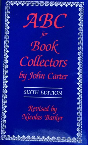 9780938768302: ABC for book collectors