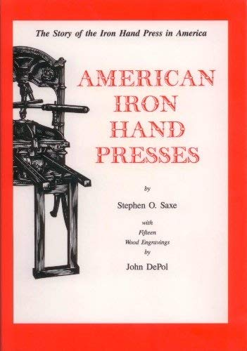 9780938768364: American Iron Hand Presses