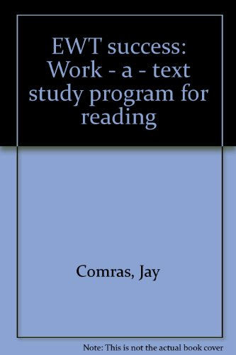 EWT success: Work - a - text: Comras, Jay
