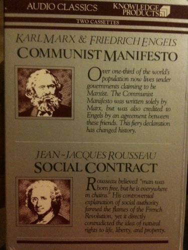 Communist Manifesto: Social Contract (Giants of Political: Marx, Karl; Engels,