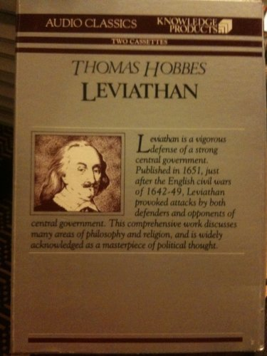 Leviathan (Giants of Political Thought The Audio Classics Series)