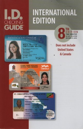9780938964704: International I.D. Checking Guide, 8th Edition (Does Not Include United States & Canada)