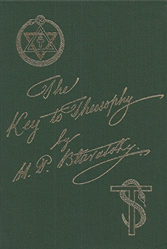 Key to Theosophy: H. P. Blavatsky