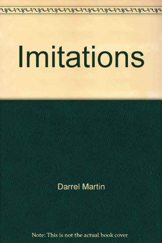 Imitations: Methods in fly tying and trouting: Martin, Darrel