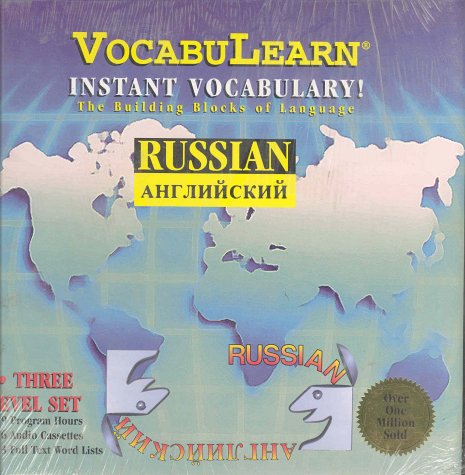 9780939001361: VocabuLearn: Instant Vocabulary- Russian (3 Volume Set) (Cassette & Book) (English and Russian Edition)