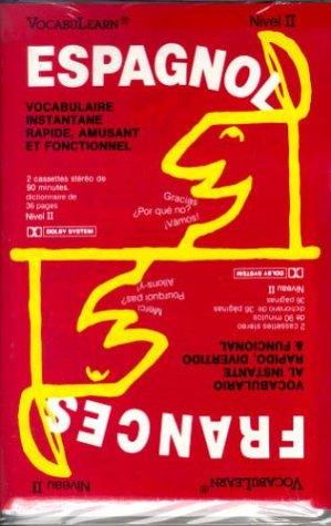 9780939001651: Vocabulearn-Frances/Espagnol/Level 2 (Cassettes and Wordlists)