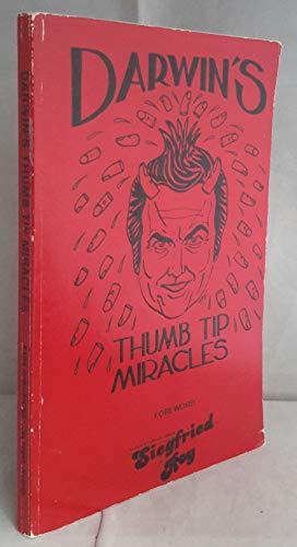 9780939024018: Darwin's Thumb Tip Miracles