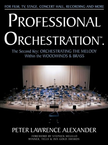 9780939067930: Professional Orchestration Vol 2b: Orchestrating the Melody Within the Woodwinds & Brass