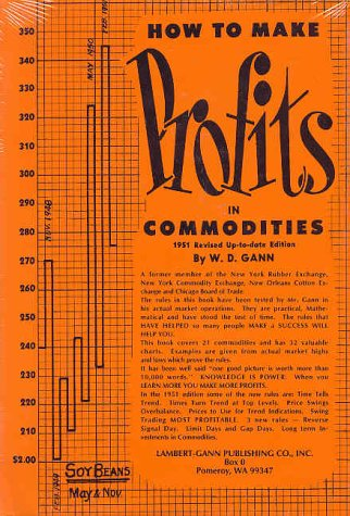 How to Make Profits In Commodities: Gann, W. D.