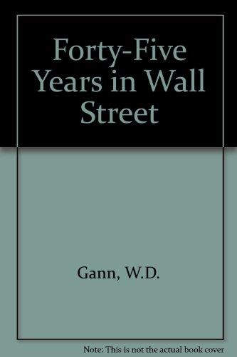 9780939093038: 45 Years in Wall Street