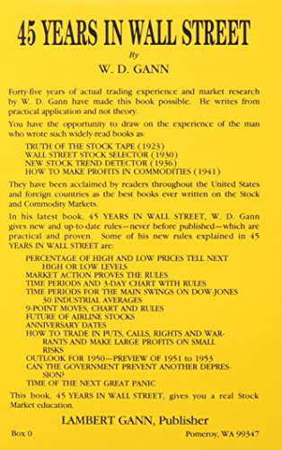 9780939093137: 45 Years in Wall Street