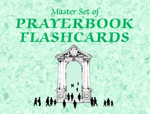Prayerbook Hebrew Flashcards (Flashcards) (0939144662) by Joseph Anderson; Linda Motzkin; Jonathan Rubenstein; Laurence Wiseman