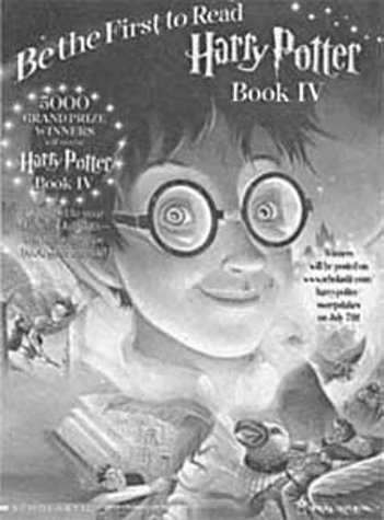 9780939173372: Harry Potter and the Goblet of Fire (Book 4)