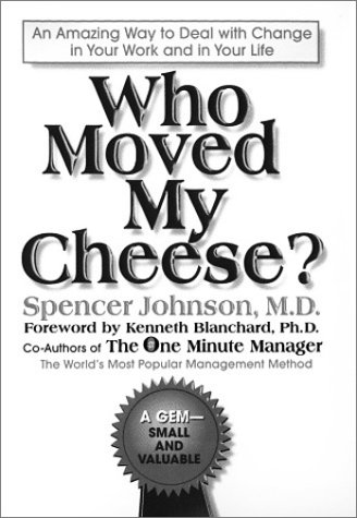 9780939173457: Who Moved My Cheese? : Braille Edition (For the Visually Impaired)