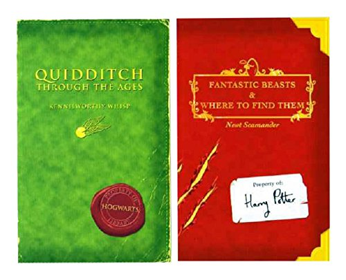 9780939173471: Quidditch Through the Ages and Fantastic Beasts and Where to Find Them, Braille Edition