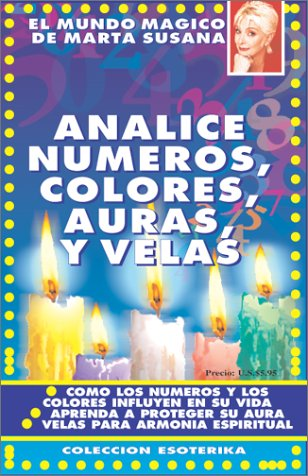 9780939193363: Analice números,colores,velas y auras (Spanish Edition)