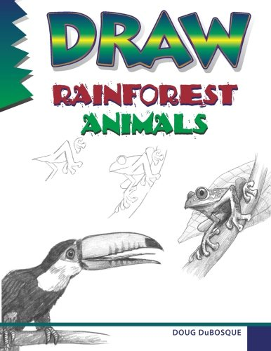 9780939217946: Draw Rainforest Animals