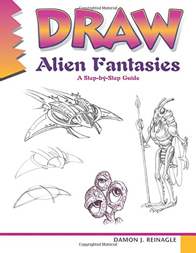 9780939217960: Draw Alien Fantasies: A step-by-step guide