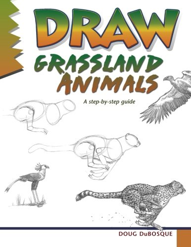 9780939217977: Draw Grassland Animals: A step-by-step guide