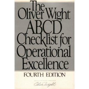 9780939246304: The Oliver Wight ABCD Checklist for Operational Excellence
