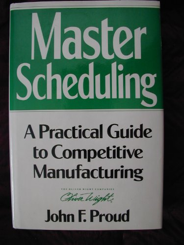9780939246366: Master Scheduling: A Practical Guide to Competitive Manufacturing