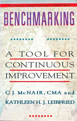 9780939246533: Benchmarking: A Tool for Continuous Improvement