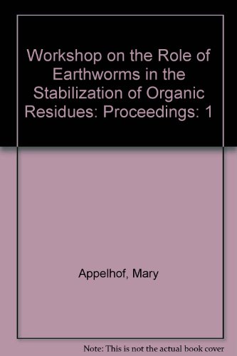 9780939294077: Workshop on the Role of Earthworms in the Stabilization of Organic Residues: Proceedings