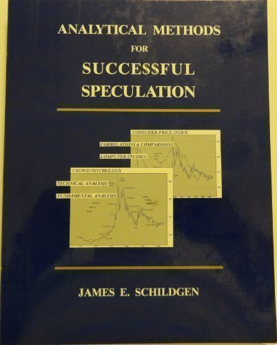 9780939397006: Analytical Methods for Successful Speculation: The Complete Book of Trading Systems