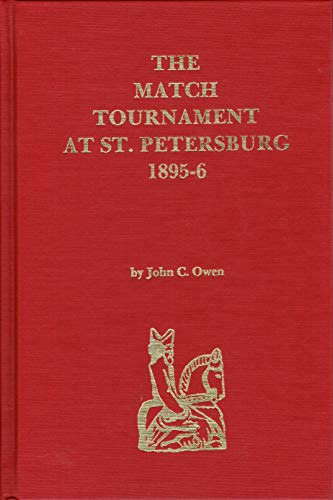 9780939433100: The Match Tournament at St. Petersburg 1895-6