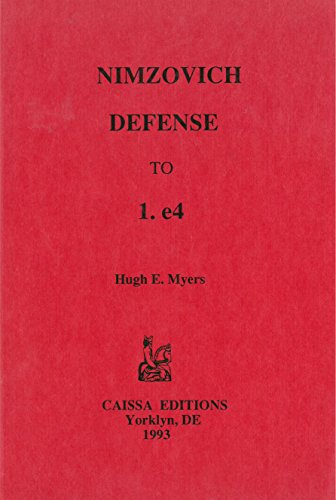 9780939433117: Nimzovich Defense to 1.E4