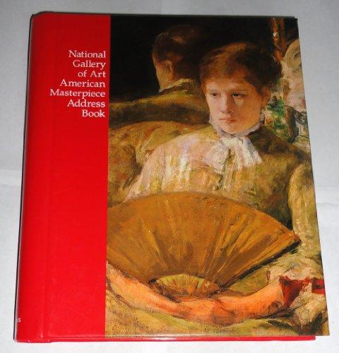 9780939456024: National Gallery of Art American Masterpiece Address Book
