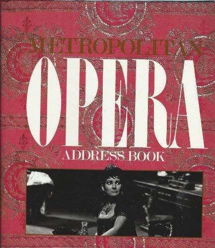 Metropolitan Opera Address Book