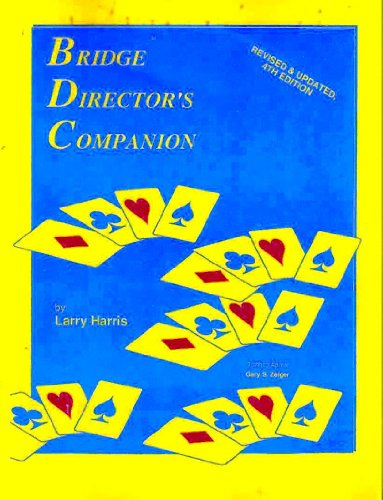 9780939460298: Bridge Director's Companion