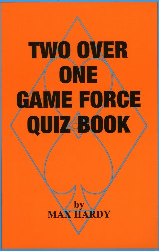 Two Over One Game Force Quiz Book (0939460742) by Max Hardy
