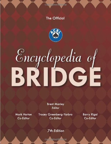 9780939460991: The Official ACBL Encyclopedia of Bridge