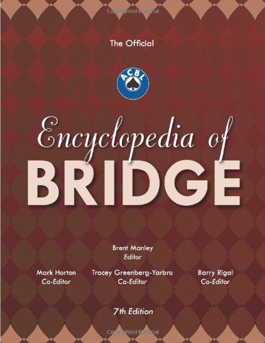 9780939460991: The Official ACBL Encyclopedia of Bridge